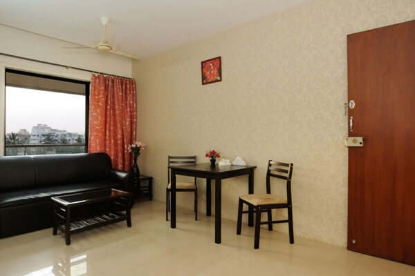 one bedroom serviced apartment in Andheri West